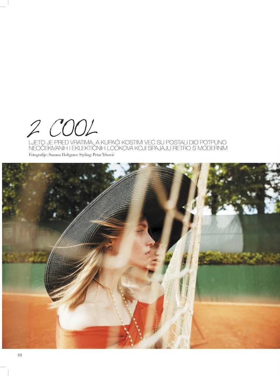 Midikennov model Ena Čuček za magazin Grazia