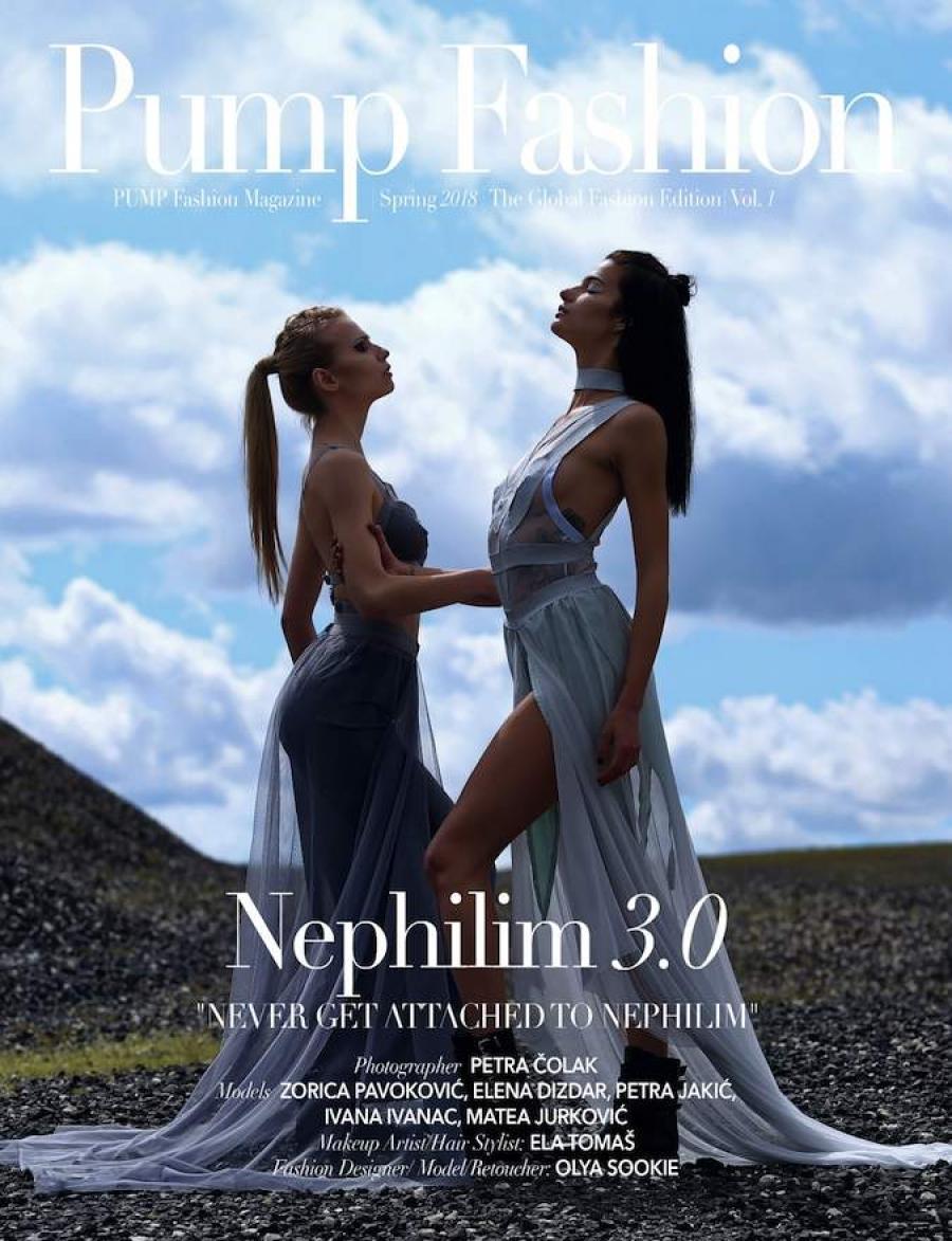 Midikennov model Elena Dizdar za Pump Fashion magazin