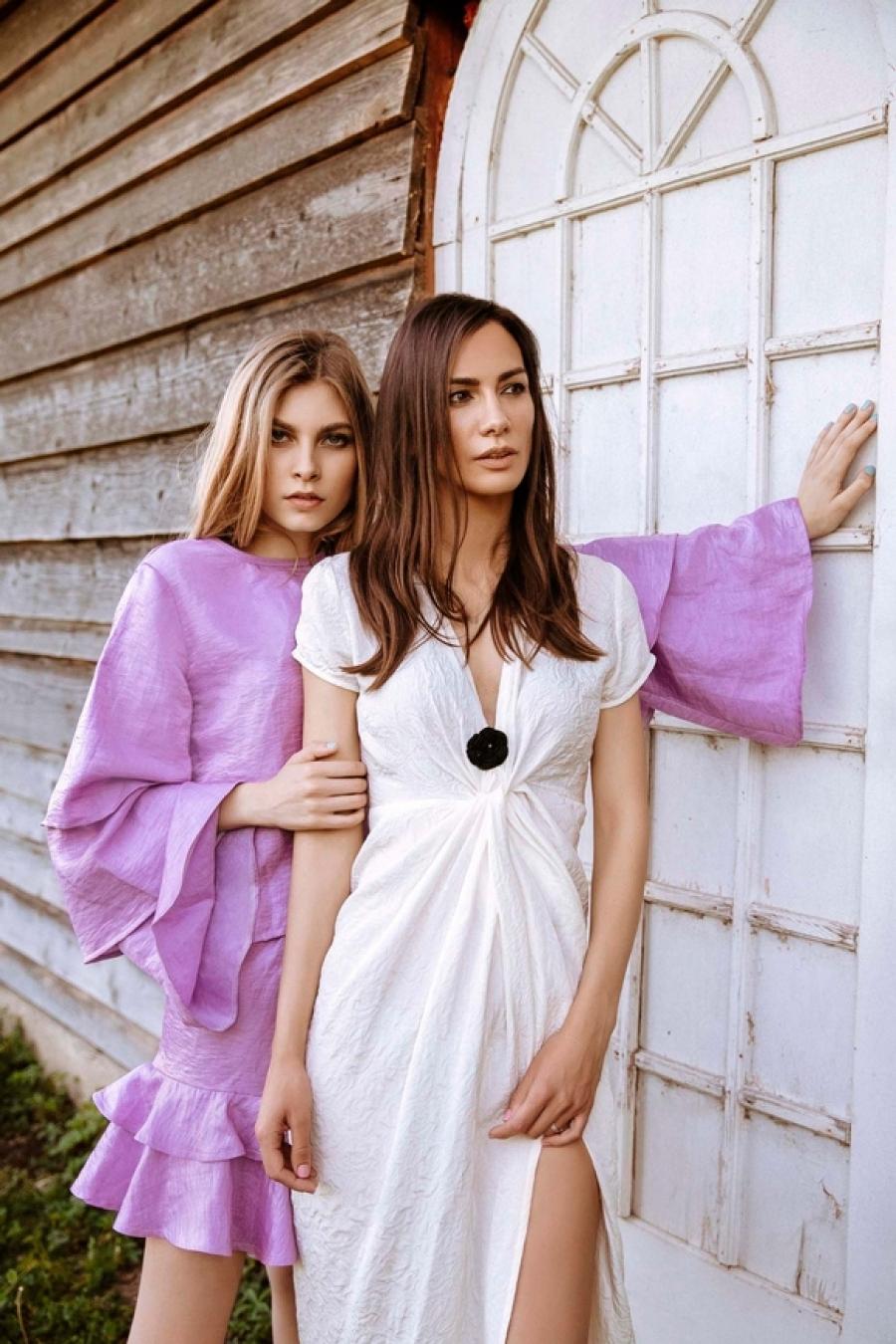 Midikennovo novo lice Klara Perica i Midikennov top model Helena Šopar u najnovijoj kampanji domaćeg brenda SOPAR