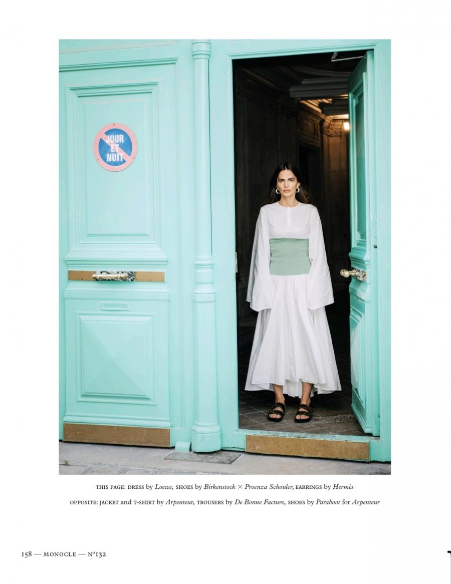 Midikennov top model Helena za Monocle magazin