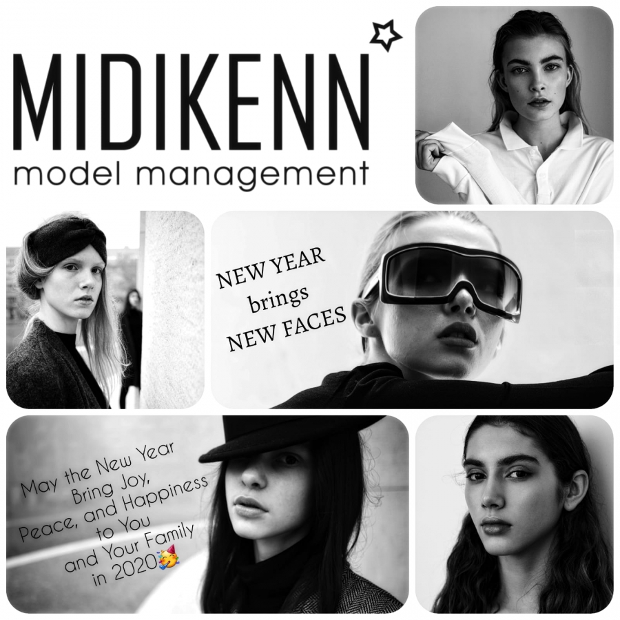 MIDIKENN model management wish you Happy 2020!
