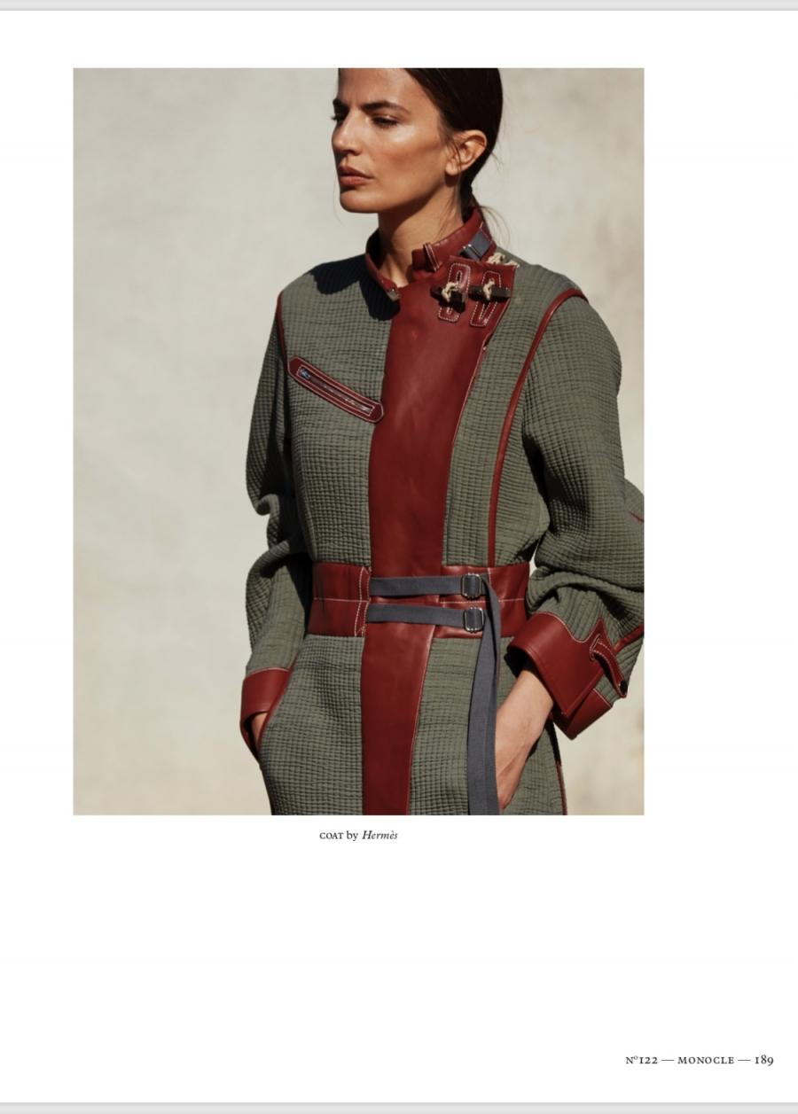 Midikennov top model Helena Šopar za Monocle magazin