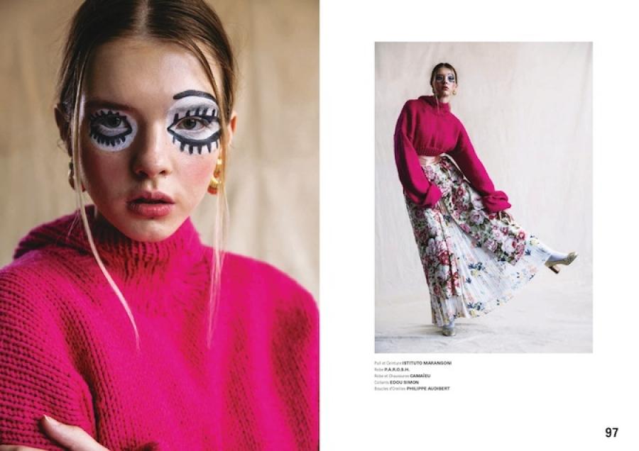 Midikennova ljepotica Andrea Jurić za pariški magazin Animal Anatomy