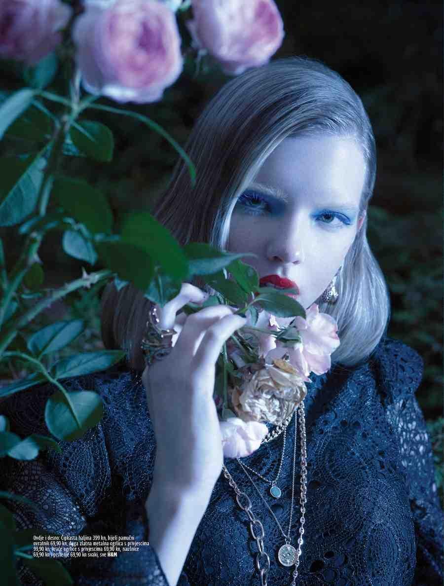 Midikennov model Andrea Jurić za Grazia magazin